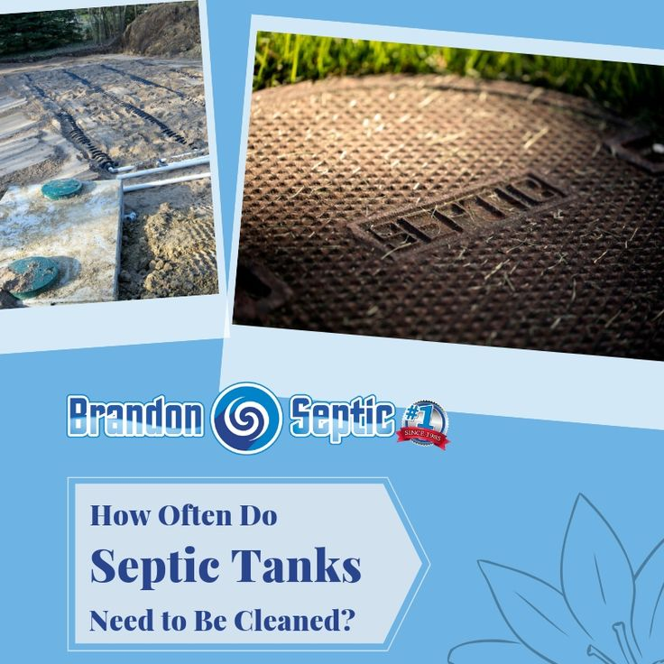 How Often Do Septic Tanks Need to Be Cleaned? | Septic ...