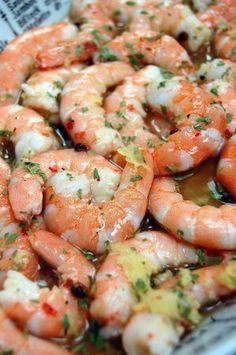 crevettes marinées citron gingembre 1