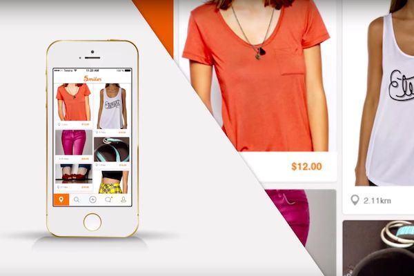 Heard of that new garage sale app? Buy and sell on your phone with @5milesapp.