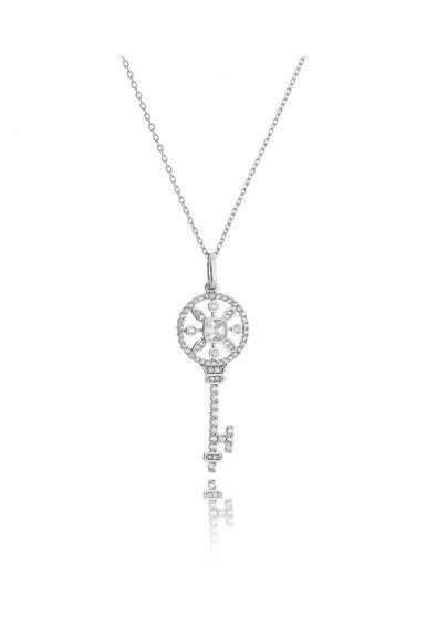 a58be9a7b2007 ... Waufen Semi Joias. Colar-chave-tiffany-prata-inspired-com-zirconias -cristais-