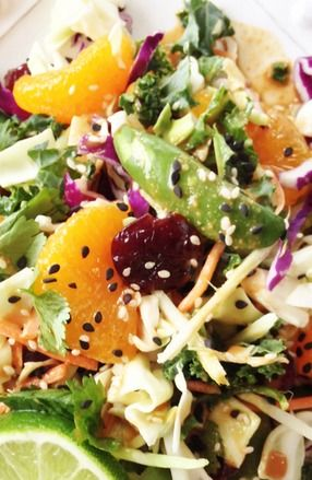 Healthified Asian Salad - Enjoy this recipe and For great motivation, health and fitness tips, check us out at: www.betterbodyfitnessbootcamps.com Follow us on Facebook at: www.facebook.com/betterbodyfitnessbootcamps