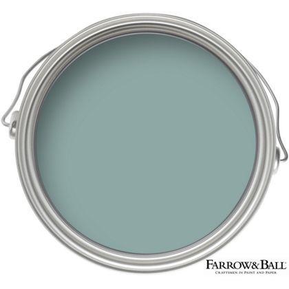 "Farrow & Ball 'Dix Blue.' ""It's striking but very pleasing."" - Katie Ridder"