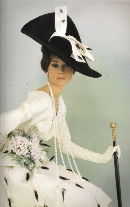 Audrey knew how to make a statement
