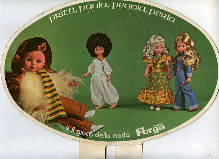 Pritty Paola Peonia Perla (Bambole Furga)