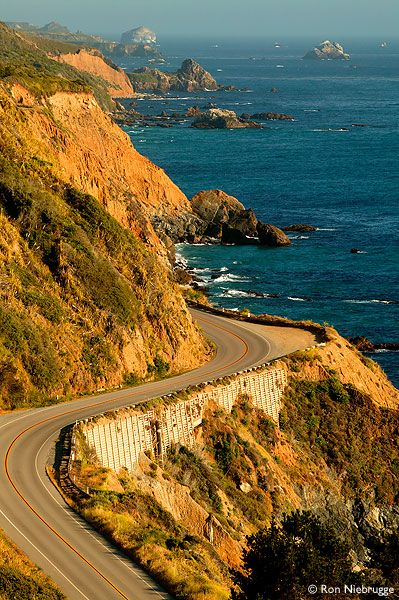 Drive along Big Sur Coast