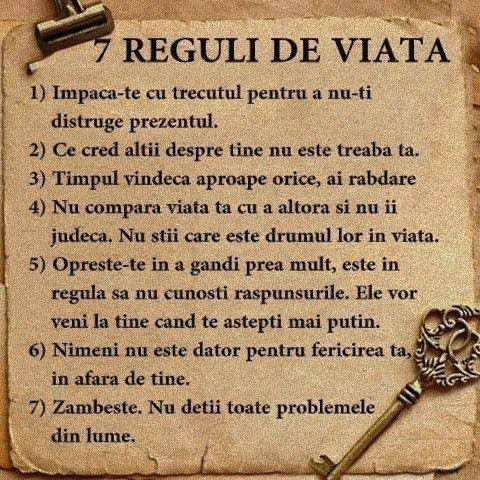 Regulile vieții.