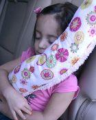 Seatbelt pillow.