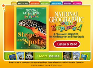 National Geographic Young Explorers