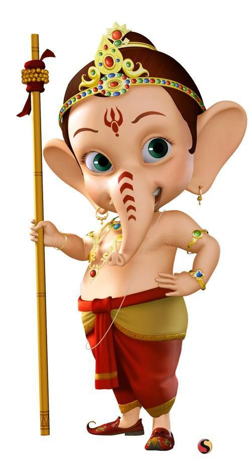 cartoon ganesh wallpaper download