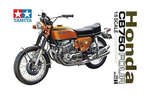 Motorcycle TAMIYA 1/6 Honda CB750 Four