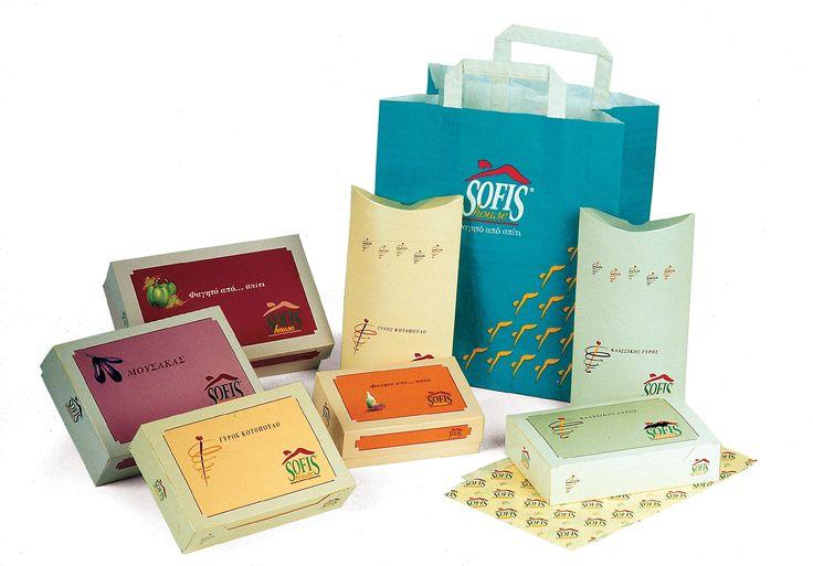 sofi's greek restaurant | food packaging