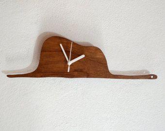 El Principito - Le Petit Prince - Una Boa Constrictor Digestión Un Elefante - Madera Reloj de pared