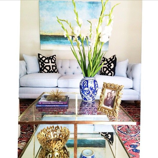 We Love The Pops Of Gold In This Design By Krystine Edwards HomeGoodsHappy