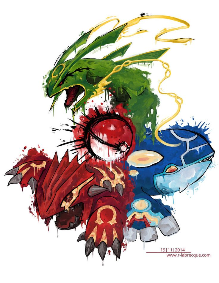 Pokemon Tattoo Honenn-trio by lorestra on DeviantArt