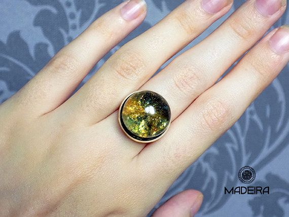 Кольцевое пространство, Бог кольцо зеленый кольца, сфера, кольцо, шар, эпоксидная смола, зеленые, желтые, звезды