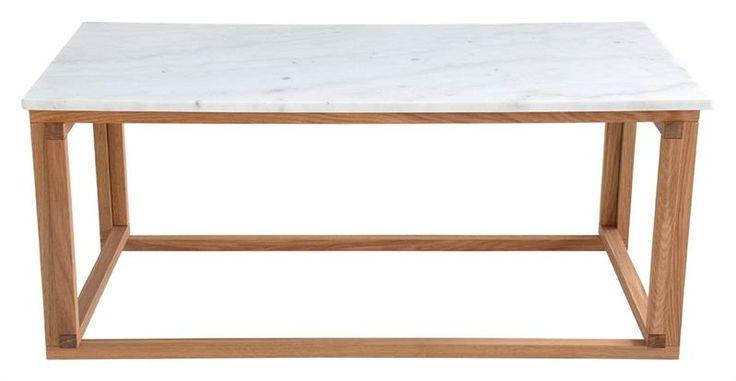 Marmor Soffbord ek rektangel