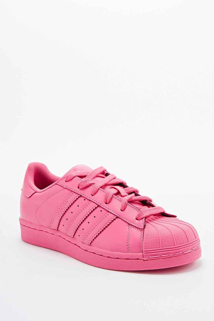 Adidas X Pharrell - Baskets Supercolor Superstar roses