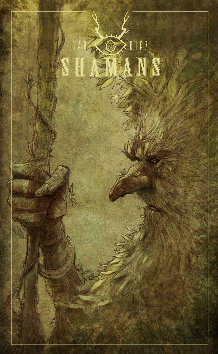 September of Shamans #3 on Behance