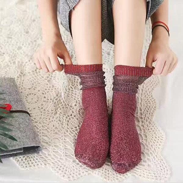 01a62b0297ffb Women Breathable High Stretch Pile Heap Socks | RealBigBuy | Store ...