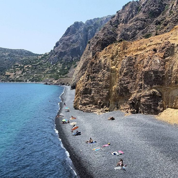 Mavra Volia Beach,Chios island, Greece.  - Selected by www.oiamansion.com
