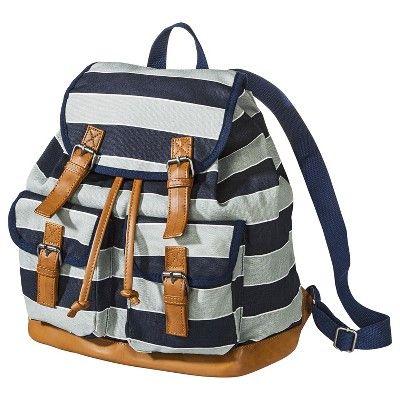 Mossimo Supply Co. Varsity Stripe Backpack - Blu... : Target Mobile