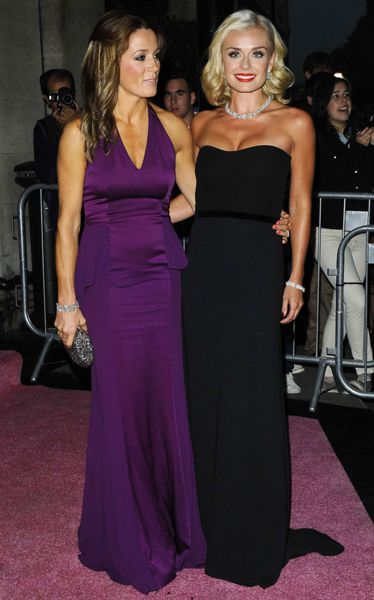 Natalie Pinkham and Katherine Jenkins.Pregnant Zara Phillips joins cousins for Boodles Boxing Ball - Photo 4 | Celebrity news in hellomagazine.com
