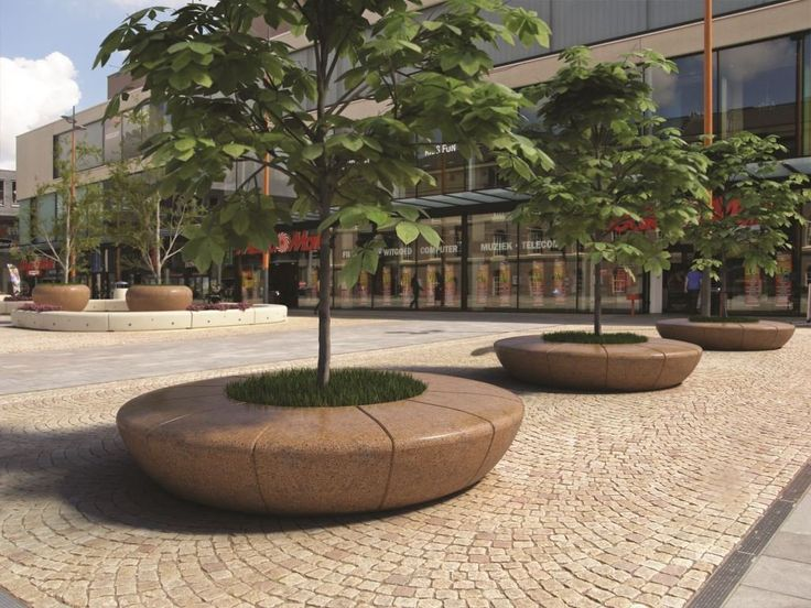 Outdoor planter with integrated seat from bellitalia very for Bellitalia arredo urbano