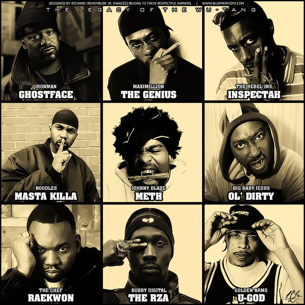 25+ best ideas about Wu tang clan songs on Pinterest | Wu tang ...