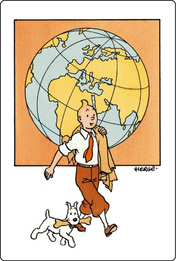 Herge's Tintin would love this print framed on my wall!