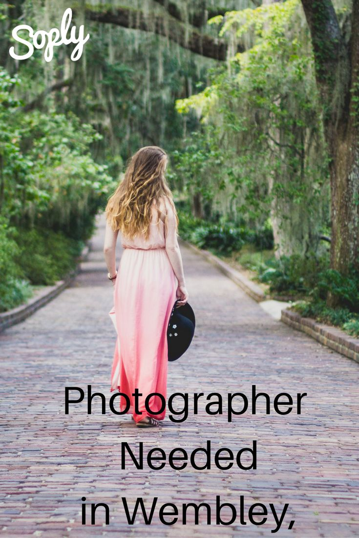 #Photographer needed to take #fashion #portraits in Wembley, UK. Speak to the #client about the job by clicking here!