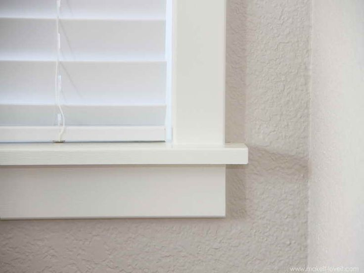 Gallery For > Simple Window Trim | D.I.Y. Home IMPROVEMENT ...