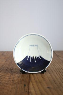 Japanese Arita Porcelain with Fuji-san (Mt Fuji) Design