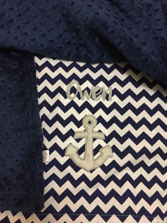 Anchor Baby Blanket Personalized Anchor Baby Blanket