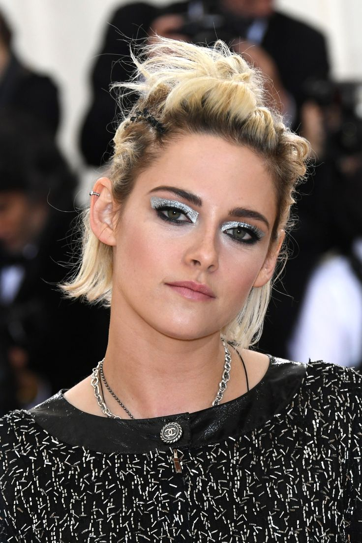 Try on #KristenStewart's electric #MetGala beauty look now using #YouCamMakeup #InTouch
