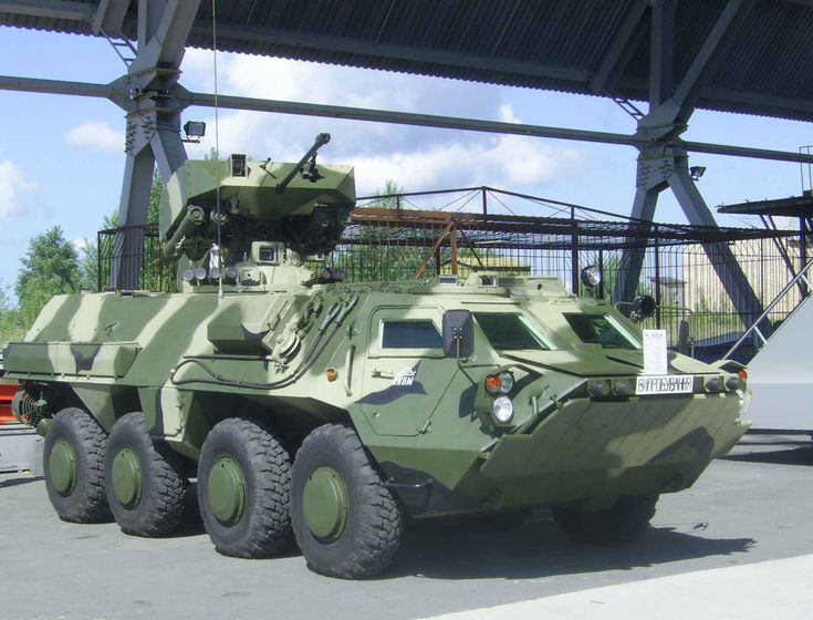 BTR-4 (GROM module) Armored Personnel Carrier (Ukraine)