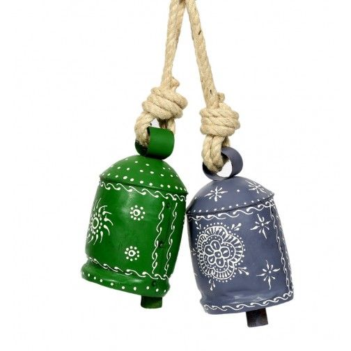 Set of Two Coloured Bells