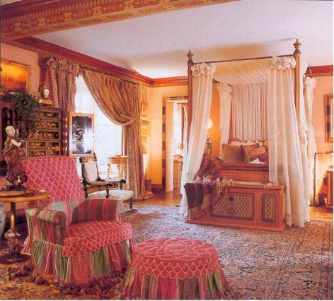 Romantic Victorian Bedrooms | Mastour Vintage Bedroom Rugs, Traditional  Designer Interiors
