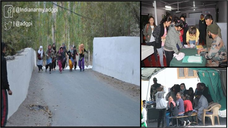 #IndianArmy Trishul Div organised coaching of girls for recruitment in Central Armed  Police Forces (CAPF)in #http://EasternLadakh.pic.twitter.com/q7SnoLN1uT #IndianArmy #Army