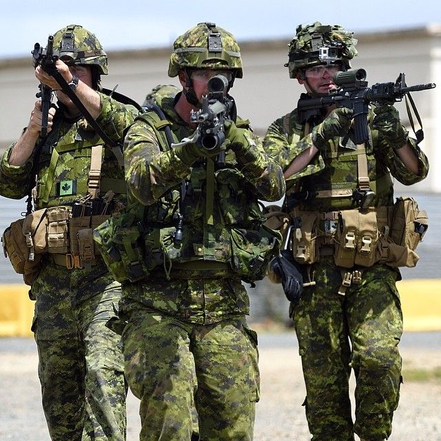 Photo taken by Canadian Forces - INK361