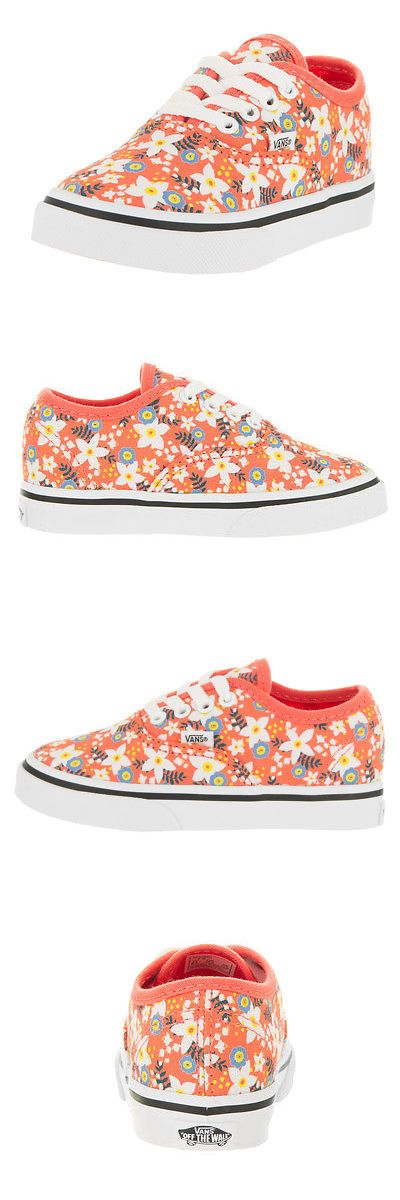Youth 159072: Vans Toddlers Authentic (Floral Pop) Skate Shoe -> BUY IT NOW ONLY: $32.9 on eBay!