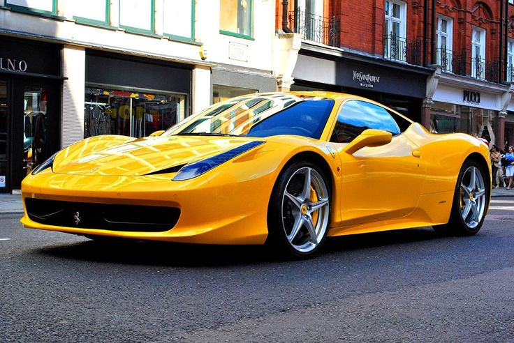 Ferrari 458 Italia in London Nice