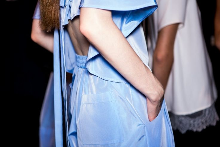 MBFWA day two: Backstage at TOME | Fashion Journal