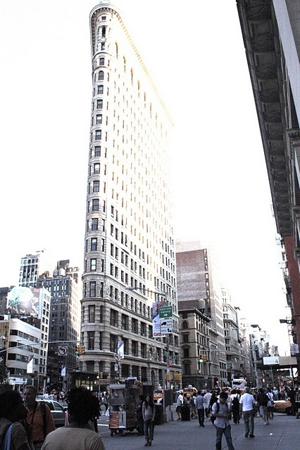 Flat Iron Building.