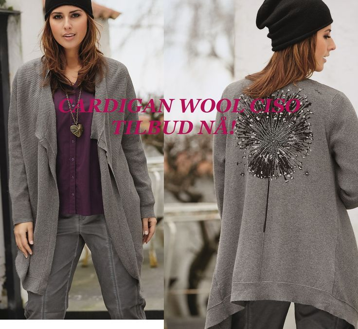 Klikk her--> http://www.kvinnemote.no/produkt/vintermote/cardigan-wool-ciso <3