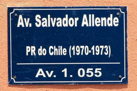 avenida Salvador Allende. Maputo, Mozambique