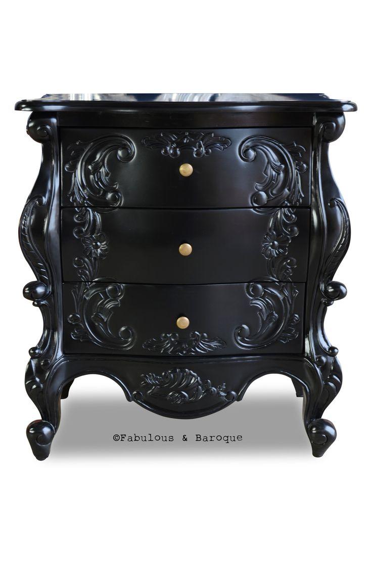 Night's Dream Side Table - Black