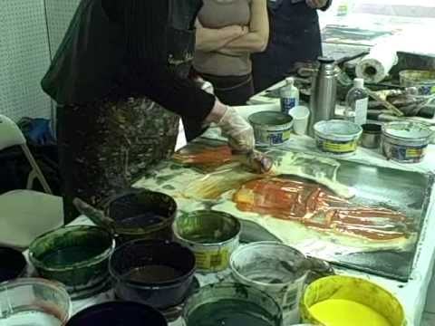 Lila Irving Lewis- Painting Demo