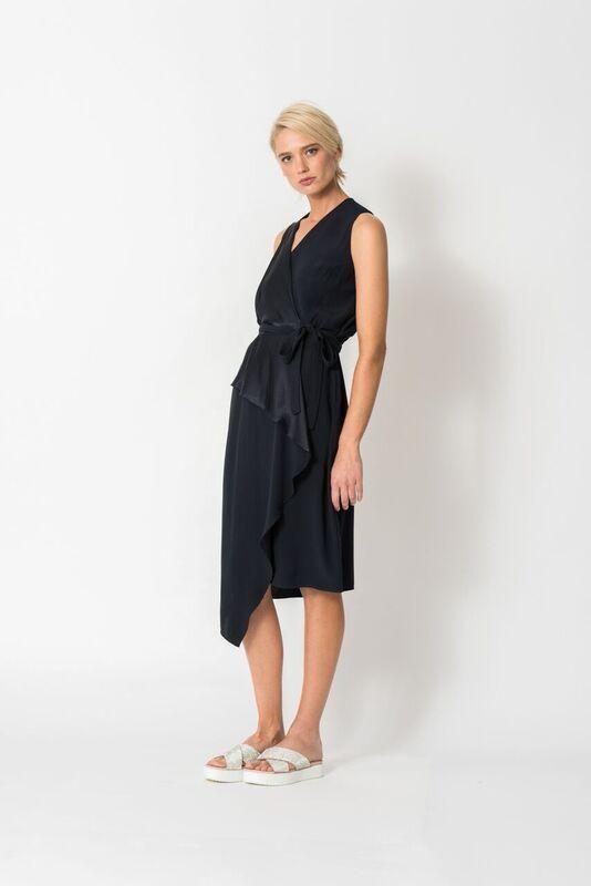 Chalice - Drape Wrap Dress - Chalice