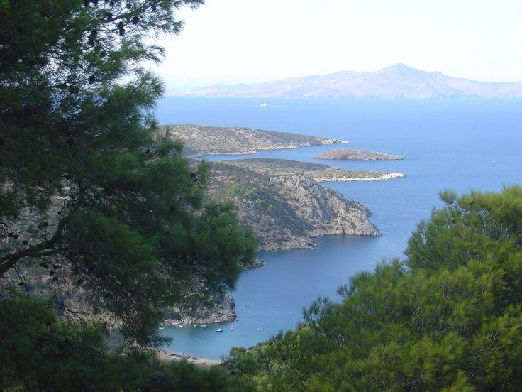 We ❤ Greece | View from #Poros mountain peak #Greece #travel #explore #destination