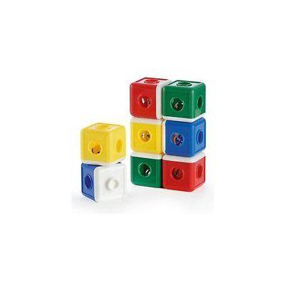 Ambi Toys staat bekend om veilig en kwalitatief goed speelgoed. Het is ontworpen om de fantasie van uw kindje te ontwikkelen en het bevordert de interactie tussen u en uw kind.  Elk blok van de Jinglers bevat een belletje. De blokken zijn eenvoudig in elkaar te klikken.  De Ambi Toys Jinglers in 4 cm per blok en geschikt voor kinderen vanaf ongeveer 12 maanden.
